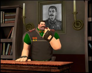 The new leader of the USSR by MrRiar