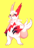 Zangoose by Leechid