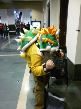 PAX East: Bowser Cosplayer by Sane-Intolerant