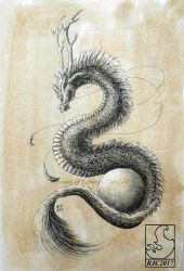 Asian Serpent by chaosia
