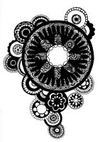 Zentangle Circles by AliceTerrarium