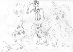 Luna Practice Sketches by baratus93