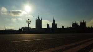 Houses of Parliament by JuicyLung