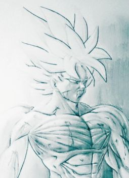 Goku Battle Damaged by NovaSayajinGoku