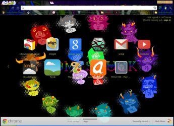 Homestuck Google Chrome Theme by GoogleChromeThemes