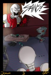Ch.4 page.3 - UNDERViRUS by Jeyawue