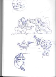 Doodles for the Nuke Sit Scans from book by Anima-Souloss