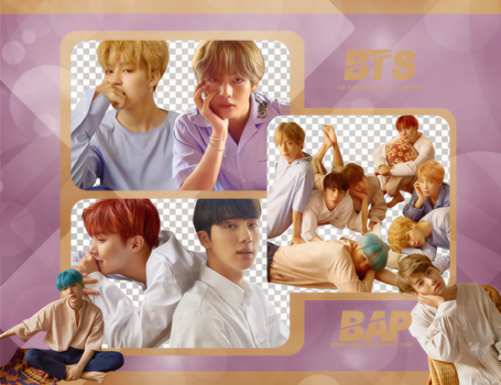 Pack Png 708 // BTS (Love Yourself - Her) (L Ver) by BEAPANDA