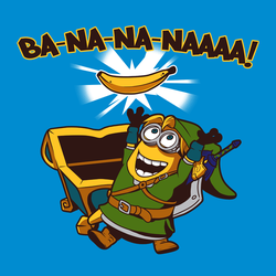 Legend of Zelda Minion Crossover Tee by sugarpoultry