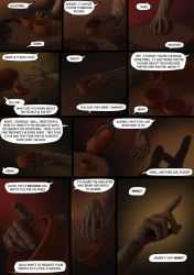 Hands telling the story by Kinslayer-Comic
