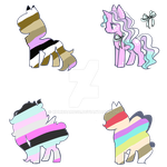 Mystery Ponys Adopt (Open) (2/4) (Price Drop) by XUmbraRose