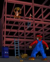 Donkey Kong by DLTabor