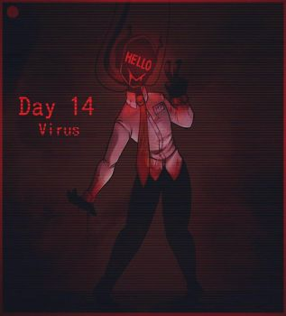 Day 14- Hp from Mx. BONE by paragonkell80