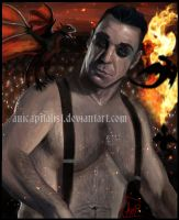 Father of Dragons(Till Lindemann) by AniCapitalist
