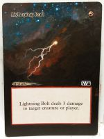 Magic Alteration: Lightning Bolt 2/26/15 by Ondal-the-Fool