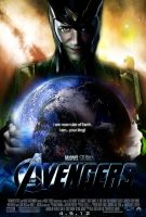 The Avengers Movie Poster Loki by Alex4everdn