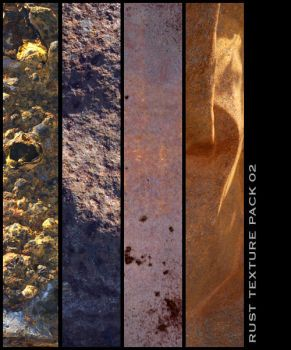 Rust Texture Pack 02 by nighty-stock