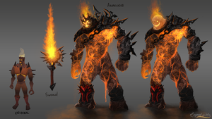 Fire Giants by RS-LegendArts
