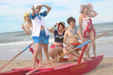 Tales of Zestiria Summer DLC cosplay by Giacchan
