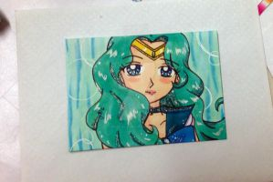 ACEO Gift for Maddie: Sailor Neptune by Magical-Mama