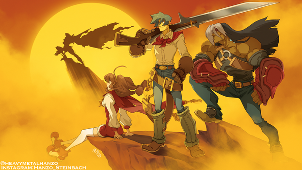 Wild Arms 2 by HeavyMetalHanzo