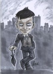 Grey Markers Oswald Cobblepot from Gotham by dekarogue