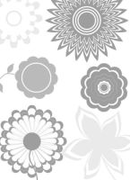 Flower Brushes Pack 2 by mfcreative