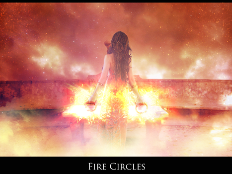 Fire Circles by SugarFeathers