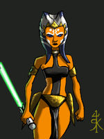 Ahsoka- Warrior Princess by Montano-Fausto