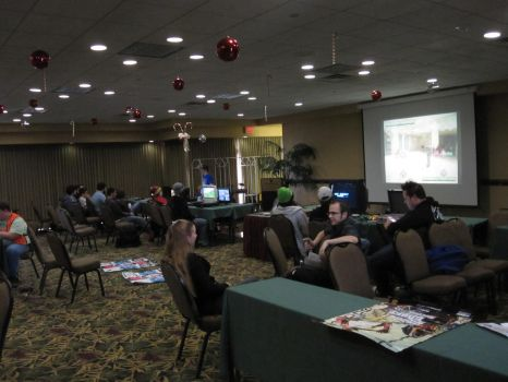 2014 Sukoshi Con, Day 2 The Game Room by AxelHonoo