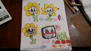 Flowey Practice by vivilong