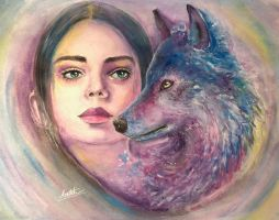 The Girl Who Didn't Cry Wolf by Sara-Arasteh