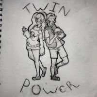 Twin Power! (WIP) by Benjilewie