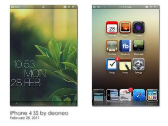iPhone 4 SS - Mar'11 by deoneo