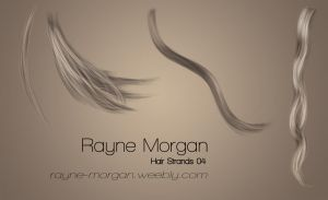 RM - Hair Strands 04 by RayneMorgan