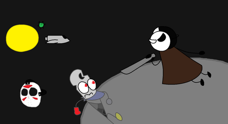 BFDI Tournament 6 Round 4.2 Space with what?! by jigglycutie