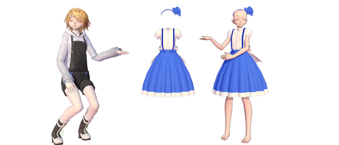 [MMD]Lolice outfit download by Madpadpan