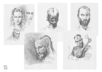 Vikings by szalstudio