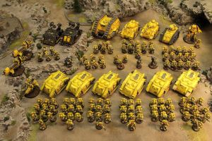 Imperial Fists army atm by J00m4n