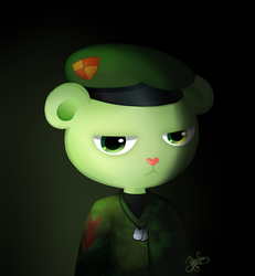 [HTF] Soldier Flippy. by Jaha-Fubu