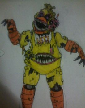 Twisted Chica v2 by FreddleFrooby
