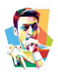 Mezut Ozil in WPAP again by aryakuza