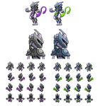 Armored Mewtwo V3 by Othienka