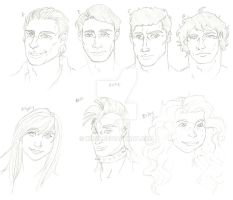 WS Oc sketches02 by Knyn
