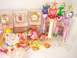 Sailor Moon loot by MoonCollectar