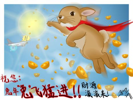 Year of the Rabbit by ikimi