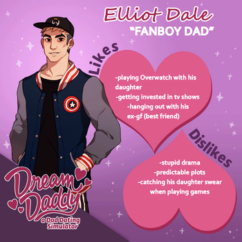 Dream Daddy Dadsona: Elliot Dale by yiawe