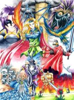 Shining Force 2 by Vincent-Northwind