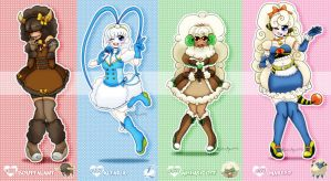[CLOSE]Magical Idol Pokemon Girl Adopts