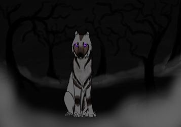 Echo in the darkness by silencethewolf